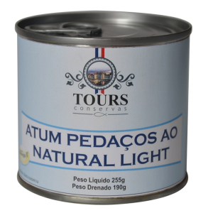 Atum Pedaços ao natural Light