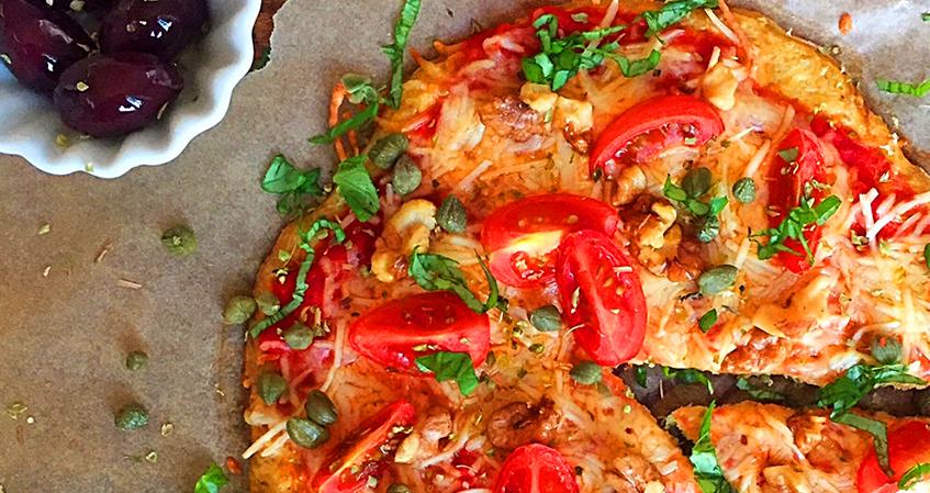 Pizza especial de atum